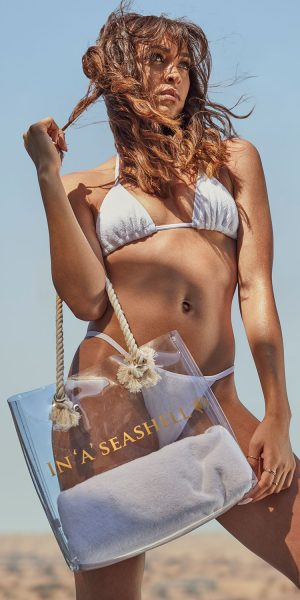 In'A'Seashell Clear Tote Bag