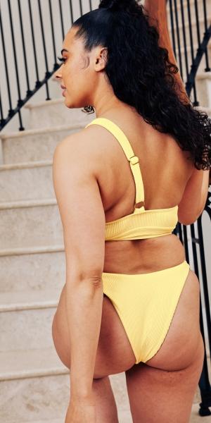 Believe Bikini Bottoms – Yellow